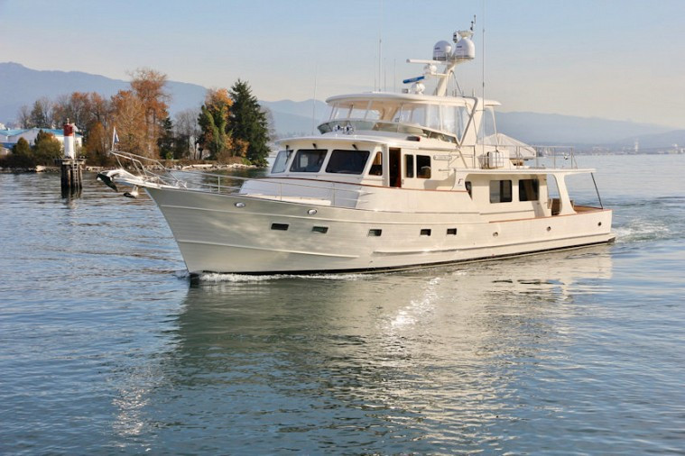 FLEMING 65 PILOTHOUSE