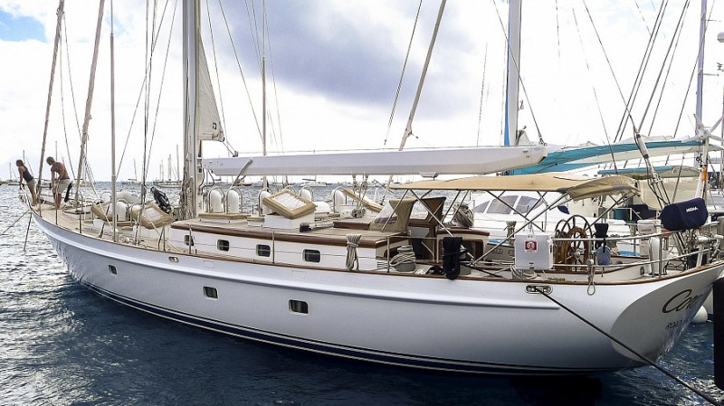 SLOOP CUTTER RIGGED SY