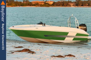 Bayliner - Element E5 + 50 PS + Trailer
