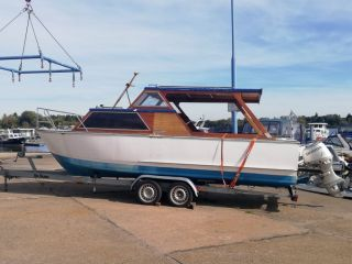 Thumbnail - Kajütboot mit 40 PS Honda Außenborder (4-takt)