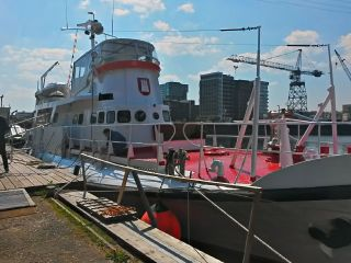Thumbnail - hochseetüchtiges Wohnboot, ehem. Rettungskreuzer Theodor Heuss (neues Video)