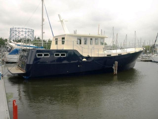 Thumbnail - Houseboat Steel Trawler