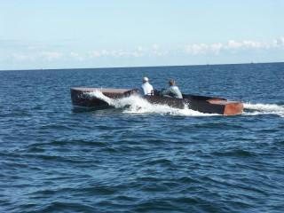 Thumbnail - Klassisches Motorboot 1936