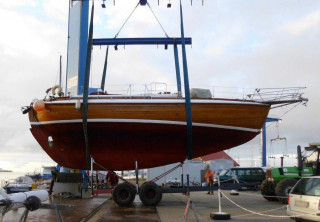 Thumbnail - Laurin Laruin Koster 41 Fantastic wooden yacht! Laurin Koster 41 built by David Cheng Hongkong in 19