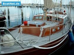 Thumbnail - Böbs-Seekreuzer in Mahagoni / Kambala Teak