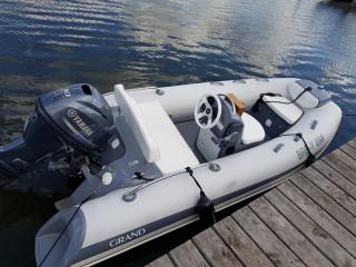 Thumbnail - Schlauchboot Grand G 380, nur 20 Betriebsstunden!
